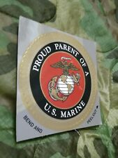 Usmc Marine Corps Proud Parents of a Us Marine Car Decal / Sticker