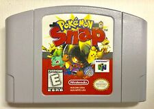 Nintendo 64.   N64   POKÉMON SNAP    Video Game Cartridge.  Very Good