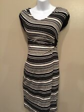 Liz Lange Maternity XS Business Casual Dress With Tiebacks