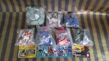 Gundam Selection Gashapon Part 19 Figure set- ZAKU Guntank RX-79 BD-1 RGM