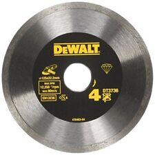 DeWALT Diamond Cutting Disc 125DT3736Sinter HP Tile Accessory