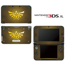 Vinyl Skin Decal Cover for Nintendo 3DS XL LL - Zelda Triforce Logo
