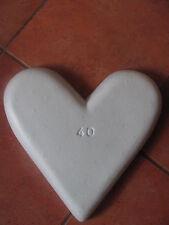 Maiherz Maiherzen Styropor Herz/Herzen 40 cm Liebe Hochzeitsdeko Krepppapier