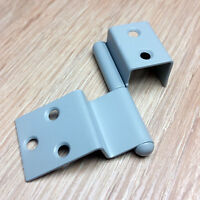 10 PAIRS REIMO HINGES MID GRAY FOR 15MM  CUPBOARD DOOR FURNITURE  FOR CAMPERVAN