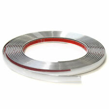10mm Chrome Car Styling Tuning Moulding Strip Trim Self Adhesive Tape 5 metre