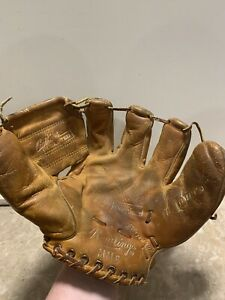 Vintage Mickey Mantle Rawlings MM6 Model Baseball Glove Yankees HOF The Comet