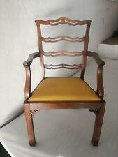** Poltrona trono padronale  rovere massello  90 cm ( h) ** poltrone sedia