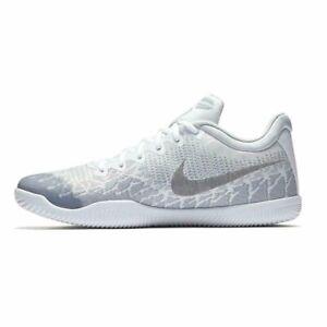 Nike Kobe Mamba Rage Men's Basketball Shoes White Grey 908972 100 Sizes 9-13