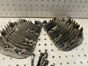 Briggs & Stratton 18hp Twin II 42A707 OEM Set of Two Cylinder Heads with Bolts