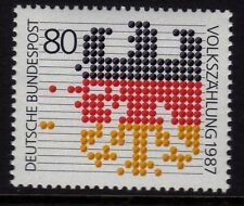 WEST GERMANY MNH STAMP DEUTSCHE BUNDESPOST 1987 CENSUS ABACUS BEADS SG 2173