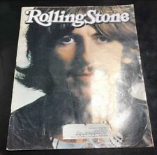 George Harrison Rolling Stone Magazine Issue 887 January 17, 2002