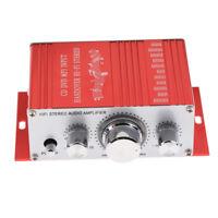 DC 12V Mini Stereo Audio Speaker Amplifier with Bass Treble Volume Control