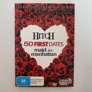 Romantic Comedies Collectors Pack DVD 3 x Movies Region 4 Free Post - Romance