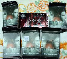 Lot 5 seal Pkg X-Files trading cards Scully Muldaur Smoking Man + 1 Season 3 pkg