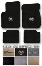 2006-2011 Cadillac DTS Custom Carpet Floor Mats - Choose Color & Official Logo