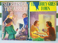 Lot of 2x The Abbey Girls Books by Elsie J. Oxenham 1949 HC / DJ Books!