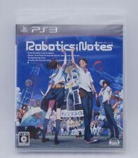 New! PS3 Robotics Notes Japan import PlayStation 3 5pb factory sealed NTSC-J