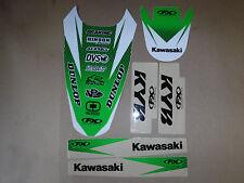 FX  FRONT & REAR FENDER GRAPHICS KAWASAKI KX250F KX450F 2006 2007 2008 SWING ARM