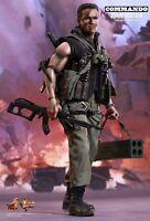 "Hot Toys 1/6 Commando MMS276 John Matrix Arnold Schwarzenegger 12"" Figure"
