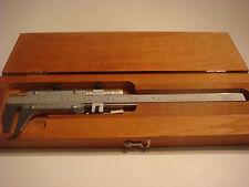"""Starrett 123 Series 8 1/2"""" Vernier Caliper,Steel ,Inside/Outside Measurements"""