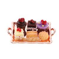 1/12 Maison de poupées miniature en gâteaux pour assiettes à gâteaux
