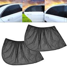 2x Car Rear Side Window Sun Visor Shade Mesh Cover Shield Sunshade UV Protector