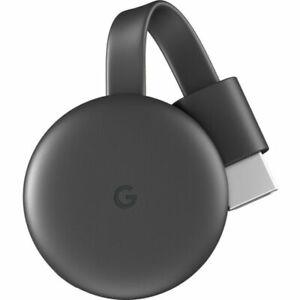 Google Chromecast 3rd Gen Charcoal