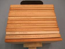 Shakespeare Association Facsimiles. complete 13 volume hardback set