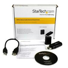 StarTech USB Stereo Audio Adaptor ICUSBAUDIOB