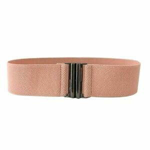 New Women Fashion Elastic Belt Wide Stretch Waist Band for Woman 10 Colors Gift