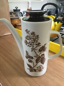 J&G Meakin Studio 'Brambleberry' Coffee Pot. VGC.