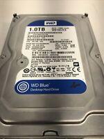 HARD DISK3,5 Western Digital 1000GB 7200 RPM SATA 64MB Cache WD10EZEX Free ship