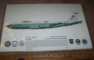 EC-135C AIRPLANE PICTURE, #287 OF 500, 55TH WING OFFUTT AFB, NE. *NICE*