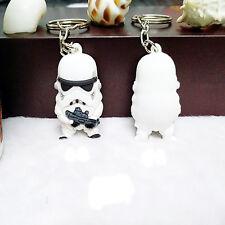 Star War Keychain Darth Vader Storm Trooper Action Key Ring Bag Car Key Jewelry
