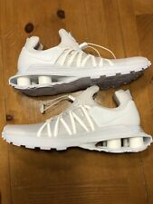 Women's Nike Shoes Shox Gravity Triple White Size 10 NEW