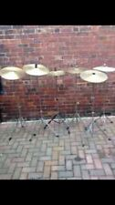 "Free P&P. One Generic 16"" Crash Cymbal and Stand."