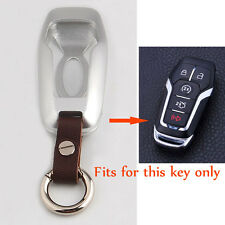 Aluminum Alloy Smart Remote Key Case 5 Button Cover For FORD LINCOLN MKZ MKC MKX