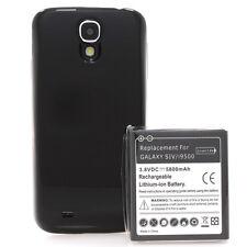 Samsung GALAXY s4 i9500 i9505 batteria Power Batteria 5800mah BUMPER nero COVER