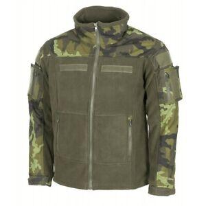 MFH®  Czech Army Camo Pattern M95 Fleece Outdoor Tactical Jacket - Brand New