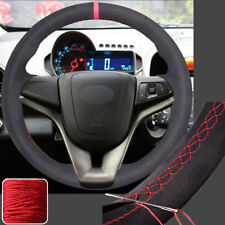 Suede Steering Wheel Covers Hand Sew Wrap for Chevrolet Cruze 2011-15 12 13 14