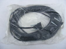 NEW 9Y998  22'  EXTERNAL DB9 MODEM 9-PIN SERIAL CABLE