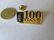 ATLANTA  Olympics 1996  10 Days 10 Apr 1996  Original Metal PIN Badge