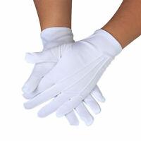 1 Pair Mens Formal Gloves Tuxedo Honor Color Guard X7P0 Inspectio Parade Sa L6A6