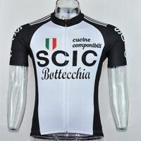 SCIC BOTTECHIA RETRO Cycling BIKE Jersey Shirt Tricot Maillot