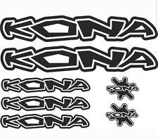 Kona reemplazo de vinilo en las pegatinas de cuadro para bicicleta de montaña MTB * Diff Colores *