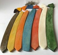 "7 Pre Shaped Camel Bone Straight Razor Scales 7 Colors For 3/4""-1"" Blades Handle"