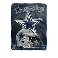 Dallas Cowboys State Pride Silk Touch Fleece Throw Blanket