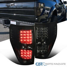 09-14 Ford F150 Pickup Smoke LED Tail Lights Tinted Rear Brake Parking Lamps