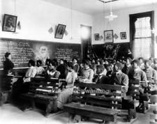 "Photo 1901 Alabama ""Tuskegee Institute - African American Students in Class"""