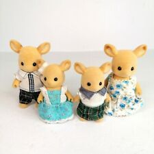 Sylvanian Families Figures Red Deer Buckley Family Rare Doll House Collectable